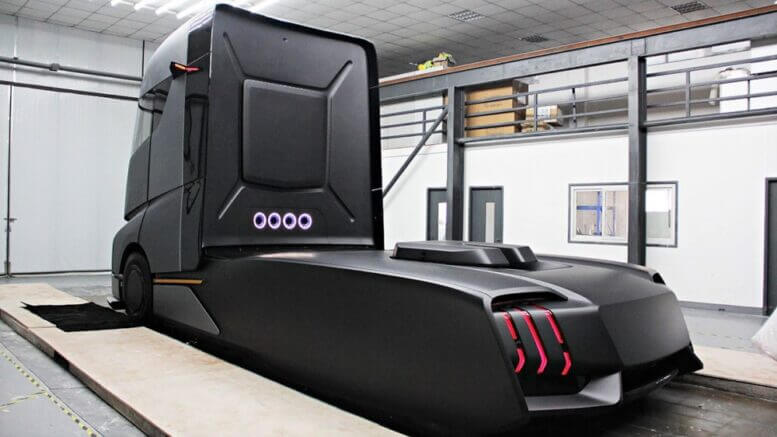Электрогрузовик от Geely: конкурент Tesla
