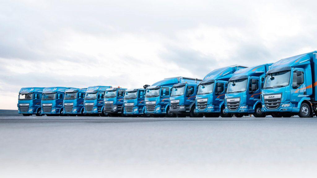 DAF грузовик: производство и модельный ряд