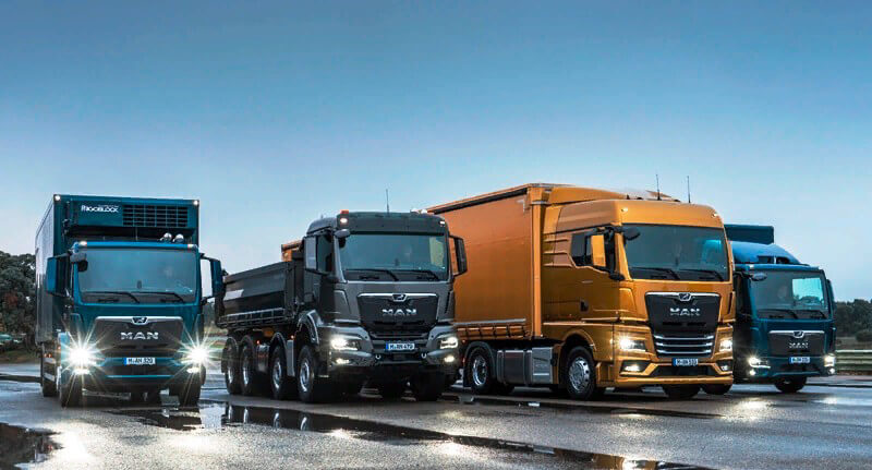 MAN грузовики: модели и характеристики
