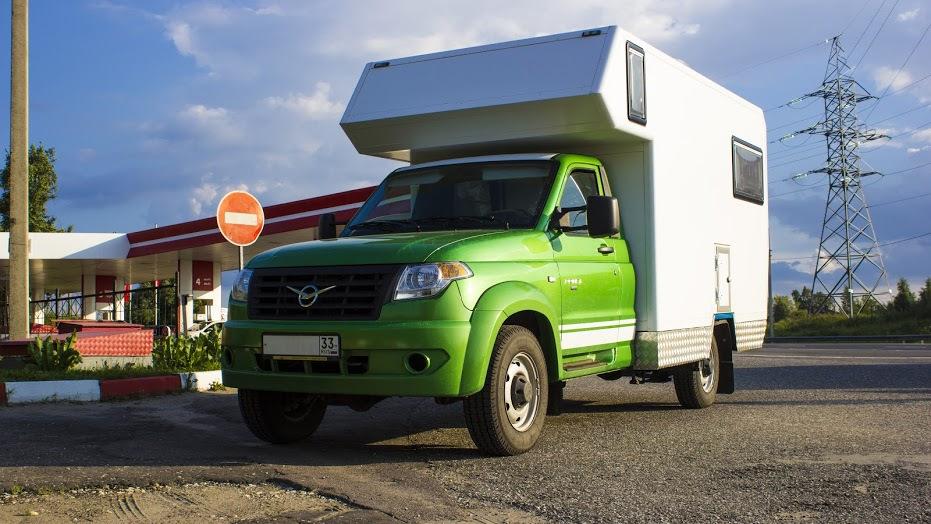 Новый УАЗ Профи: автодом от российского производителя