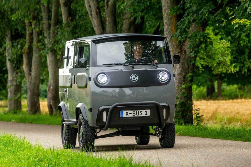 XBus - Электробуханка из Германии